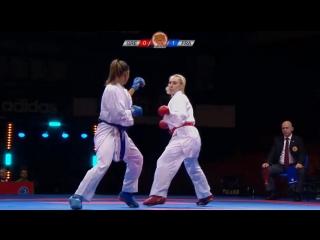 Элени Чатзилиаду (Греция) - Анна-Лаура Флорентин (Франция)
