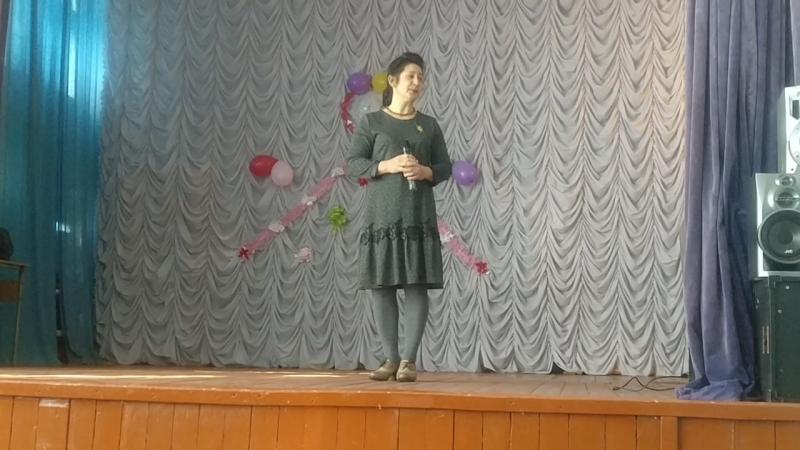 Фахретдинова Лилия Елмаючы... бурелэр (Р.Миннуллин шигыре)