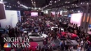SUVs And Electric Cars Reign At America's Largest Auto Show | NBC Nightly News