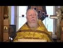 Протоиерей Димитрий Смирнов. Проповедь о дорогах, которые мы выбираем