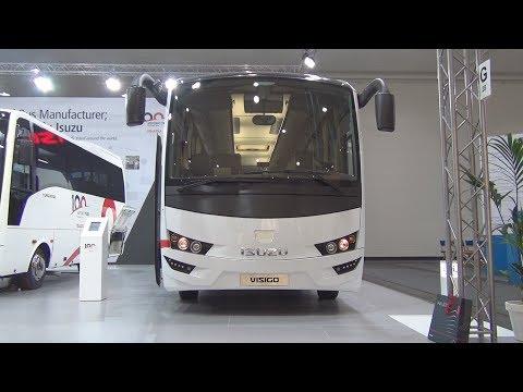 Isuzu Visigo Cummins ISB6.7E6 250B Bus (2017) Exterior and Interior