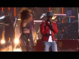 Jamie Foxx and Chris Brown Performing You Changed Me at iHeartRadio Music Awards