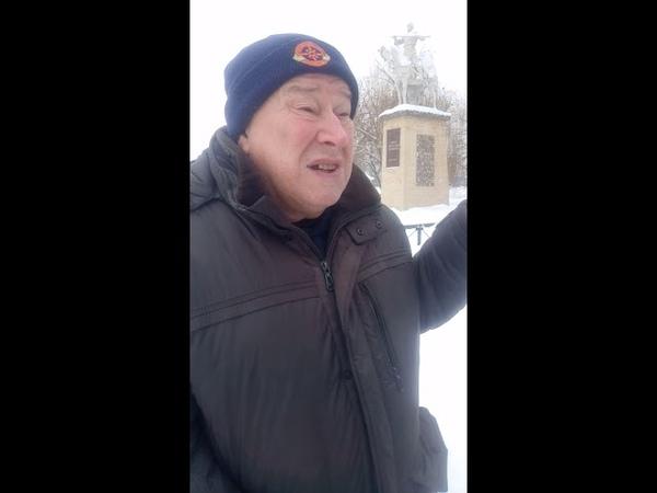 Шахтер из Луганска Путин хуйло