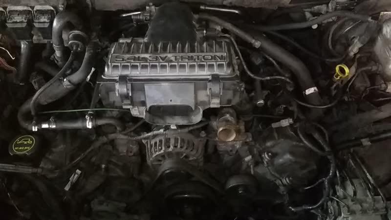 ПЕРВЫЙ запуск после замены цепей ГРМ, Линкольн Навигатор 5.4 V8