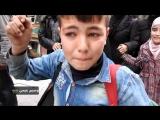 Встреча сирийской армии жителями Айн-Термы (Восточная Гута, 23 марта 2018) :