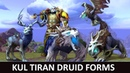 Kul Tiran Druid Forms Animations and Variation Battle for Azeroth