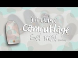 ENG CC Army camouflage gel nails