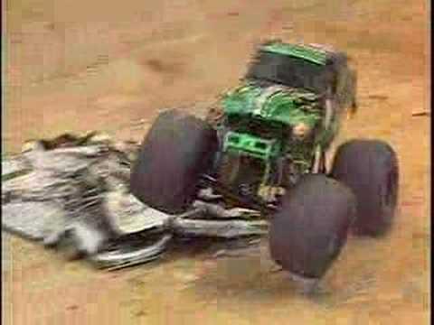 Monster Jam San Antonio 2008 Grave Digger Monster Truck