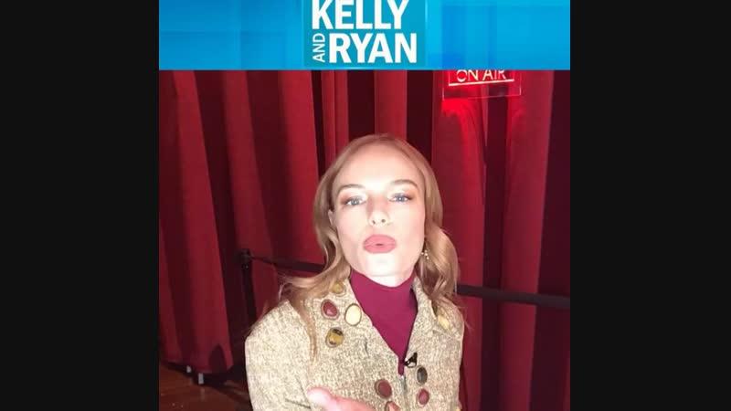 Кейт на Live With Kelly and Ryan 6 12 2018