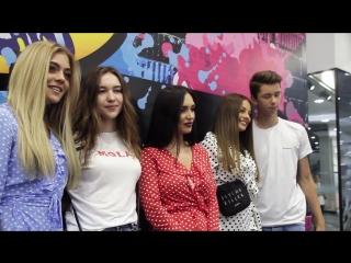 Супервстреча с солистками группы SEREBRO в ЛЭтуаль, в ТРЦ Гринвич, Екатеринбург!