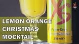 XS Power Drink - Lemon Orange Christmas cocktail