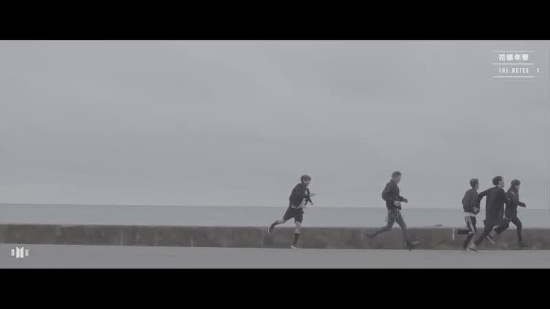 정국 - 22년 5월 22일 - 어느 순간 우린 모두 해변도로를 따라 달리고 있었다. 숨이 차고 땀이 나고 머리가 지끈거렸지만 형들이 멈추지 않았기에 나도 멈추지