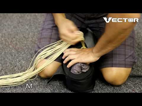 U-stow Semi Stowless Main Bag Packing Video