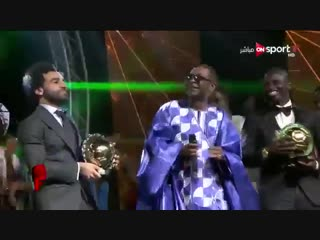 Mo Salah has been named African Footballer of the Year again