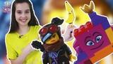 Страна девчонок ЛЕРА и сборка ЛЕГО! Королева Многолика из LEGO MOVIE 2!