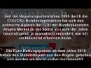 AfD in den Bundestag - Erika Steinbach verläßt CDU - Ihre Erklärung zum Ausstieg-
