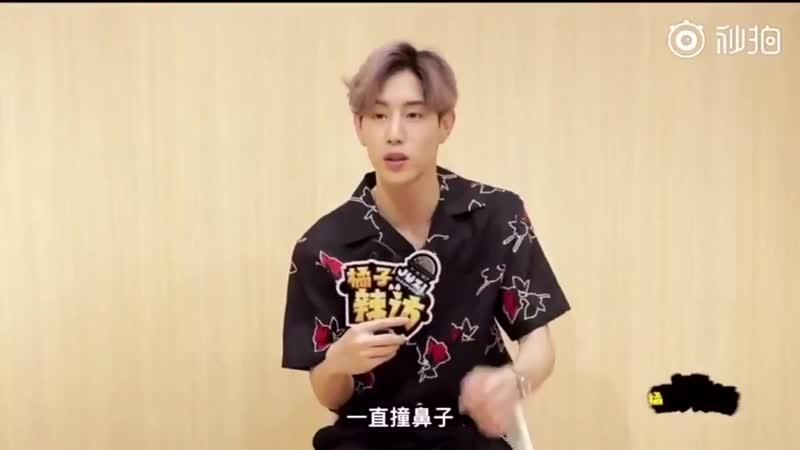 🔍mark's interview with ju zi spicy visit