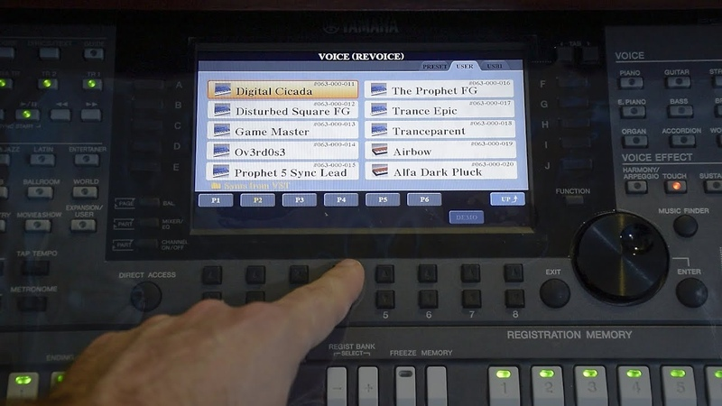 Synts from VST - Expansion Pack Yamaha PSR-S770
