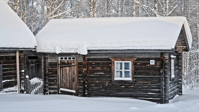 Traditional Finnish Log House/Cabin in 1988 and 2019