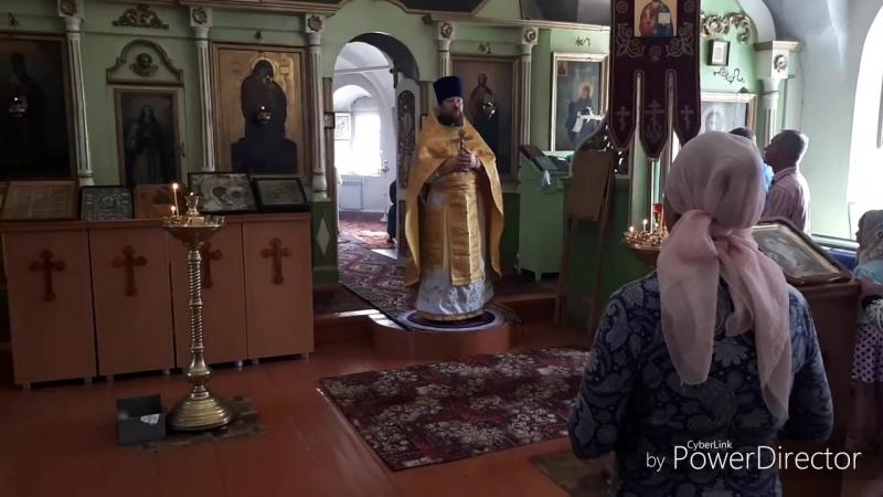 Проповедь 12 августа 2018 Храм Святой Троицы