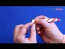 Оригами Свечка _ Поделки из бумаги на Новый Год