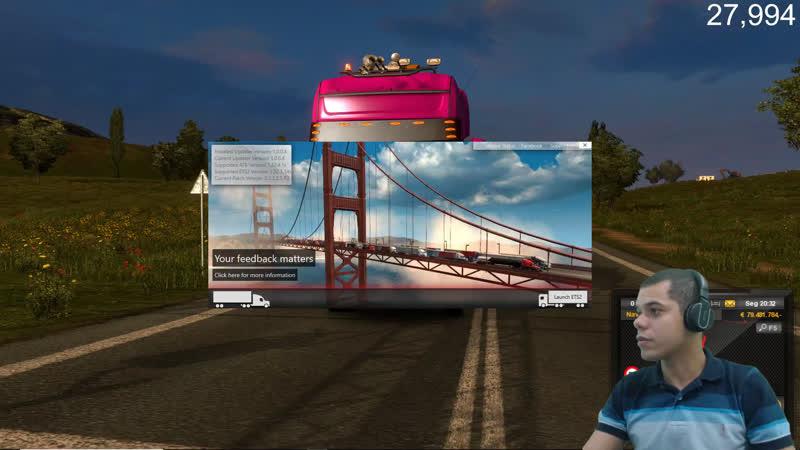 Euro Truck Simulator 2 Viajem Especial 28 mil inscritos!