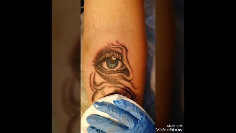 Tattoo глаз
