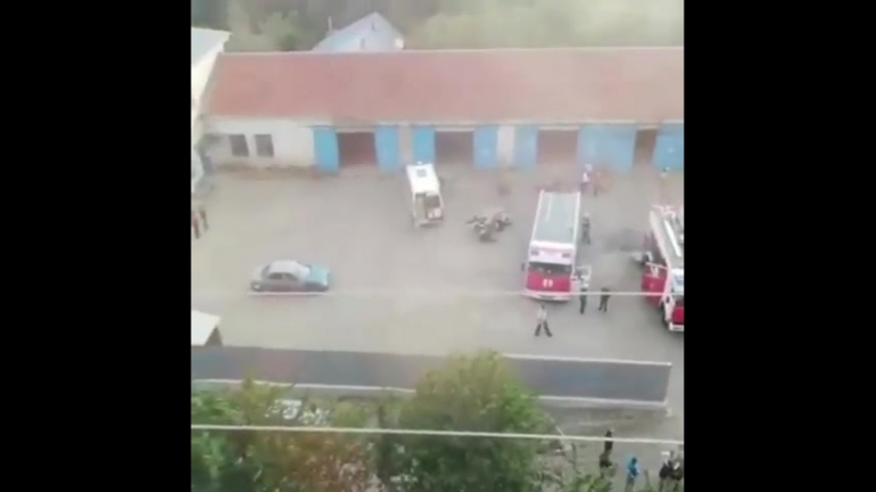 Пожар в котельной психбольницы — Регион-26