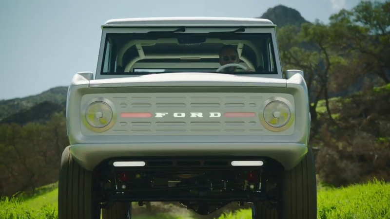 Zero Labs Automotive (Mountains) World's First Classic Electric Bronco Preview