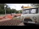 Работы по замене теплотрассы на улице Черновицкая
