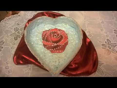вазочка конфетница подарочная коробка Сердце