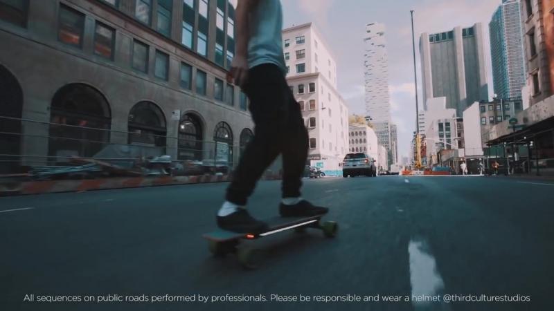 Электро-скейтборд Xiaomi Acton Smart Electric Skateboard