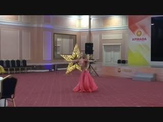 Виктория Глухова ориенталь Евразия Ракс 2018 г.Оренбург 3 место