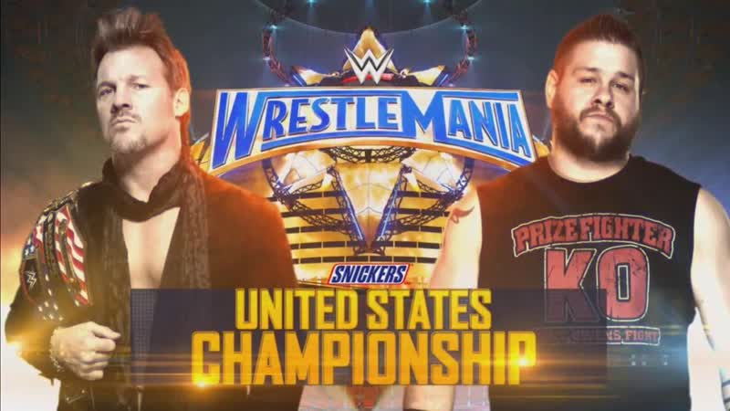 WWE Mania WrestleMania 33 Chris Jericho c vs Kevin Owens United States Championship