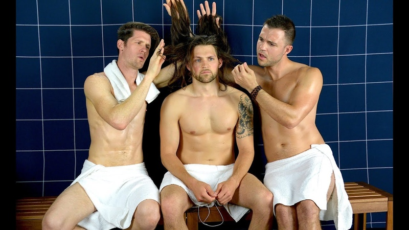 HOT GUYS WITH LONG HAIR - Steam Room Stories.com
