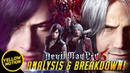 DEVIL MAY CRY 5 V Gameplay Trailer Breakdown Nero Dante Majin Demon King In depth Analysis