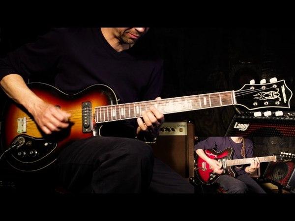 Советские гитары Musima de Luxe 25 K, Jolana Special.