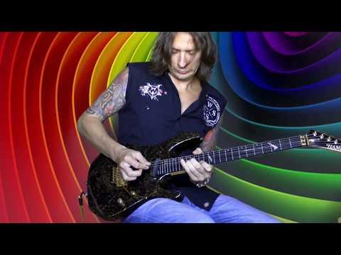 Recording this guitar solo for the band Archontes Записываю это соло для группы Archontes