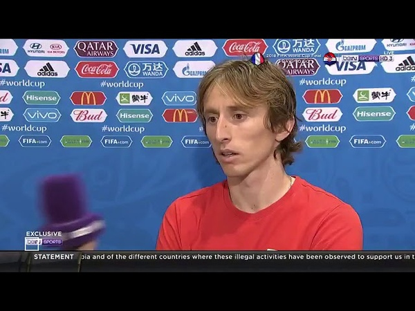 Luka Modric interview After their Win Over England | World Cup 2018 RUSSIA