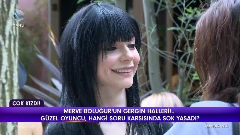 Merve Boluğur'un gergin halleri / Magazin D / 20 Nisan 2018