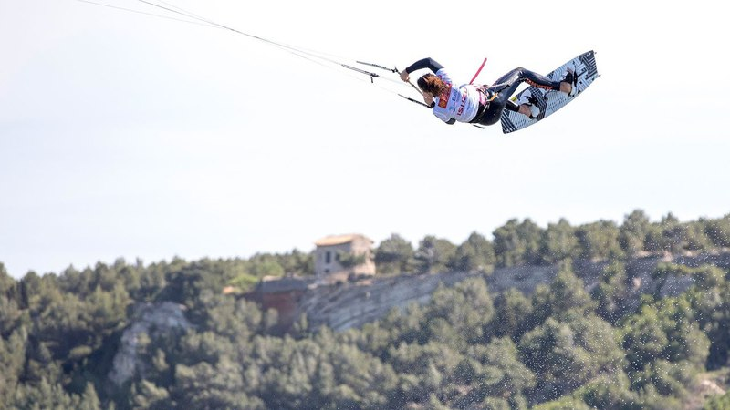 GKA Kiteboarding World Tour Round One - Leucate Warm-up Session