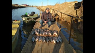 Рыбалка в Казахстане село Ганюшкино (сом, жерех и раки)