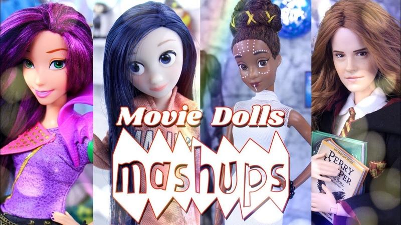 Mash Ups: Movie Custom Dolls - Shuri   Violet   Harry Potter   Tony Stark more