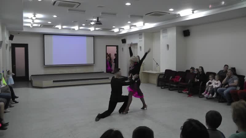 Asta-Dance Пасадобль Pro-Am Кирилл и Ирина 2019