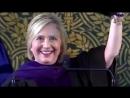 Клинтон одела шапку ушанку и сказала что хочет присоединиться