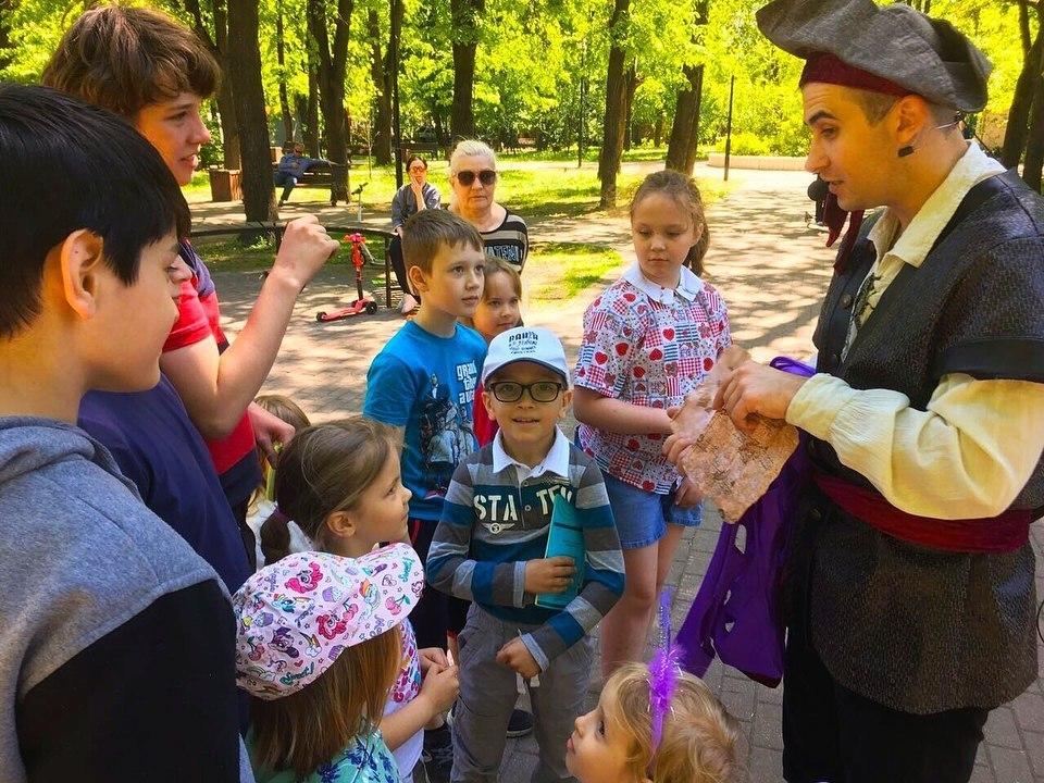 Праздник для детей провели в Савеловском парке