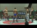 Kazuaki Mihara, Katsumi Oribe vs. Yoshihisa Uto, Yuya Aoki (BJW - BJ-Style 16)
