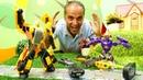 Transformers araba oyunları. Bumblebee şehri karanlıktan kurtarıyor