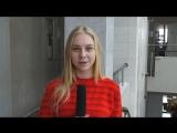 Илона Божко (2 курс журфака РГЭУ (РИНХ)) читает стихотворение Николая Туроверова