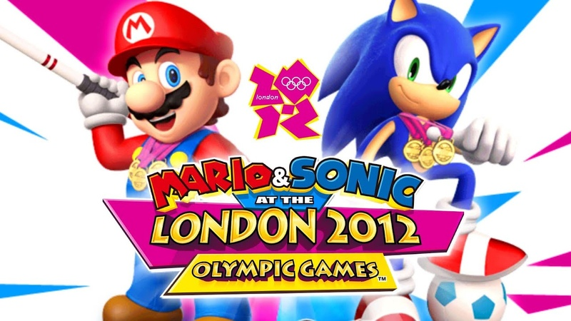 Mario Sonic at the London 2012 Olympic Games All Events Dream Events in 1st Place